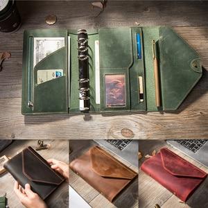 Image 1 - Reiziger S Notebooks En Tijdschriften Handgemaakte Organizer A5 A6 Blocnotes Planners Creatieve Planner Dagelijks Freeprint Schetsboek