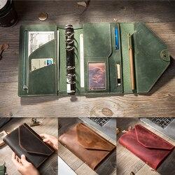 Reiziger's Notebooks en tijdschriften Dagboek Handgemaakte Organizer A5 A6 Blocnotes boulet Planners Creative bullet journal planner PRINT
