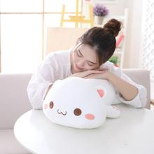 35/50cm Soft Animal Cartoon Pillow Cushion Cute Fat Dog Cat Totoro Penguin Pig Frog Plush Toy Stuffed Lovely kids Birthday Gift