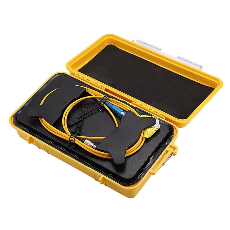 SC/UPC FC/UPC OTDR Dead Zone Eliminator Fiber Rings  Fiber Optic OTDR Launch Cable Box 1Km|PH Meters| |  - title=