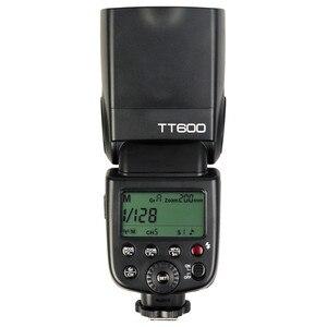 Image 2 - Godox TT600 GN60 Flaş Işığı Master Slave Speedlite 2.4G Kablosuz Sistem Canon Nikon Pentax Olympus için Fuji DSLR Kamera