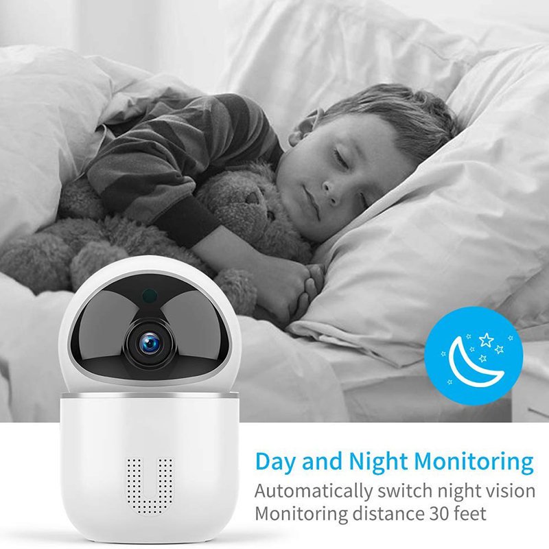 Image 4 - 1080P Cloud IP Camera Baby Monitor Intelligent Auto Tracking Surveillance Home Security Wireless WiFi CCTV Baby Monitor Camera