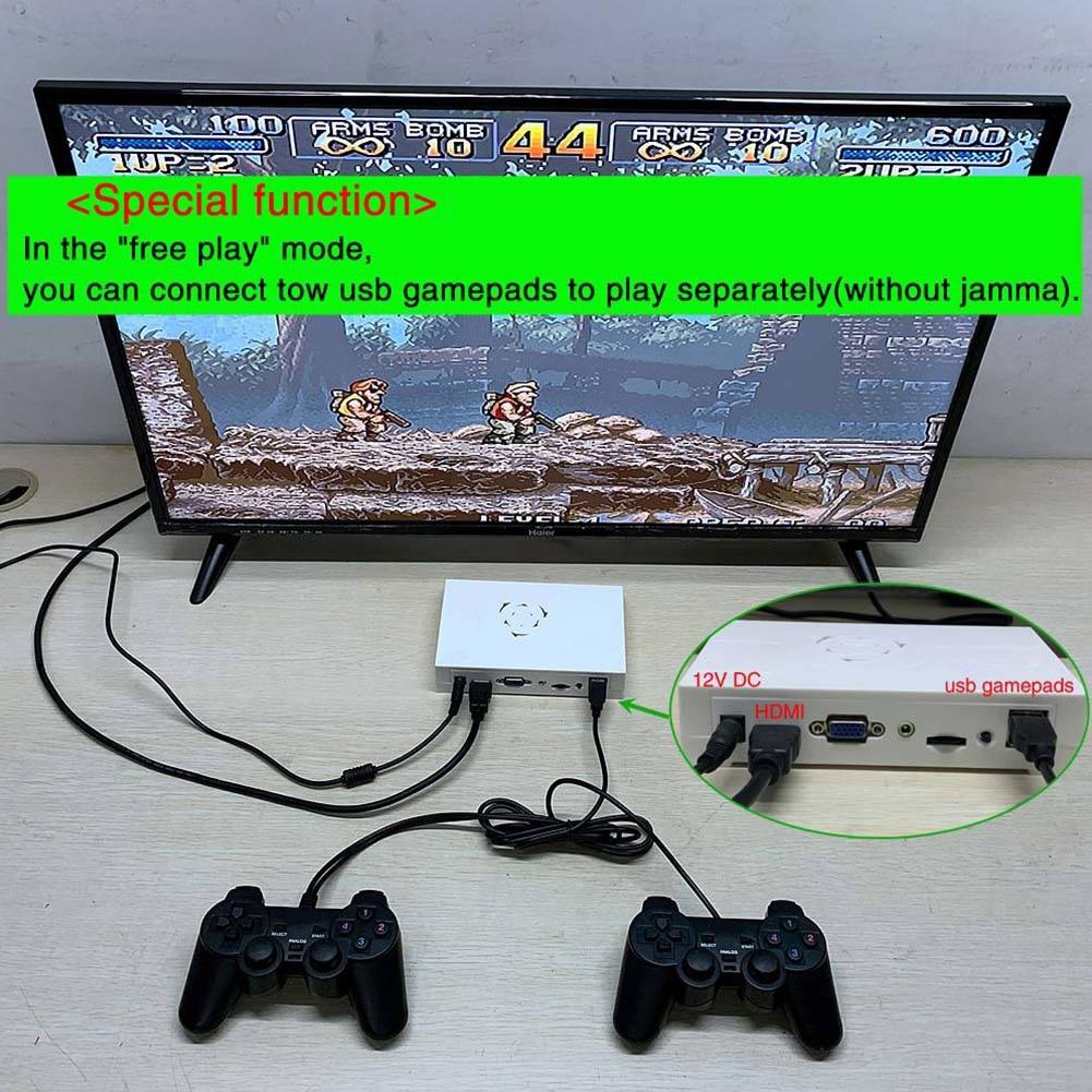 Pandora Saga Box 12 Arcade Edition 3188 In 1 Game Board For Cabinet Machine Coin-operated Arcade Games With VGA+HDMI+3.5mm