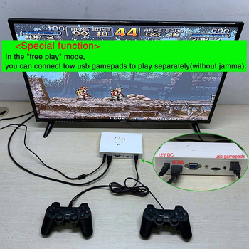 Saga Box 12 Arcade Edition 3188 in 1 Game Board for Cabinet Machine Coin-operated Games with VGA+HDMI+3.5mm