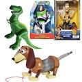 Disney История игрушек 3, 2 Вуди, Базз, светильник, какашка, Рекс, Джесси, говорящие куклы, История Игрушек 4, Базз, светильник, передвижной Рождест...