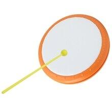 Ручной барабанный музыкальный инструмент пластиковый 198 мм 7,8 дюйма для портативной практики