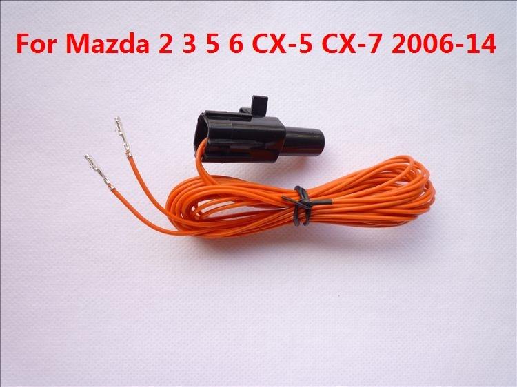 CAPQX For MAZDA 2 3 5 6 CX-5 CX-7 2006-2014 Car Accessories Ambient Air Temperature Sensor G51861764A