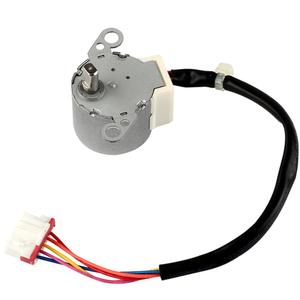 Image 4 - Universal air conditioning parts swing motor stepper motor for MP24BA  air conditioning stepper motor 12V DC