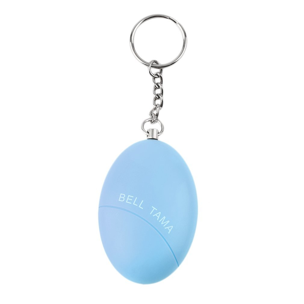 Smart Key-chain Eggs Shape Scream Loud Anti-Attack Self Defense Protective Alert Lovely Practical Safety Women Girl Alarm