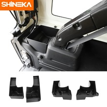 SHINEKA Stowing Tidying for Jeep Wrangler 2011-2021 Car Rear Trunk Side Storage Box Container Holder For Jeep Wrangler JK JL
