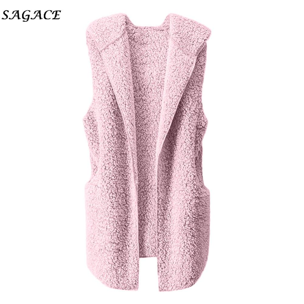 Sagace Clothes Women V-Neck Coat Knitted Cardigans Autumn Coat Women 2020 Fashion Vest Warm Hoodie Outwear Casual Coat Jacket