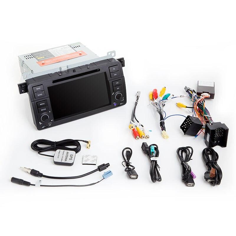 Xonrich1 Din Auto Radio Gps di Navigazione per Bmw E46 M3 Rover 75 Coupe 318/320/325/330 dvd Lettore Multimediale Unità di Testa Stereo Audio - 5