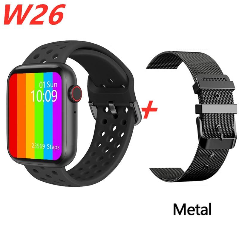 IWO W26 Smart Watch 2020 New ip68 Waterproof smart watch men ECG Heart Rate call watch Women Smartwatch Sport Fitness Tracker
