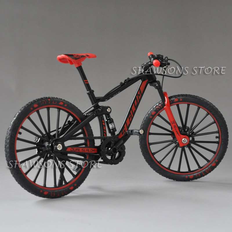 1:10 Maßstab Legierung Diecast Rennrad Modell Replik Fahrrad Spielzeug rot