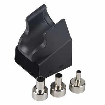 JCD LCD Digital Rapid Heating Hot Air Gun Micro Rework Soldering Station Hair Dryer for Soldering Heater Gun Welding Repair Tool