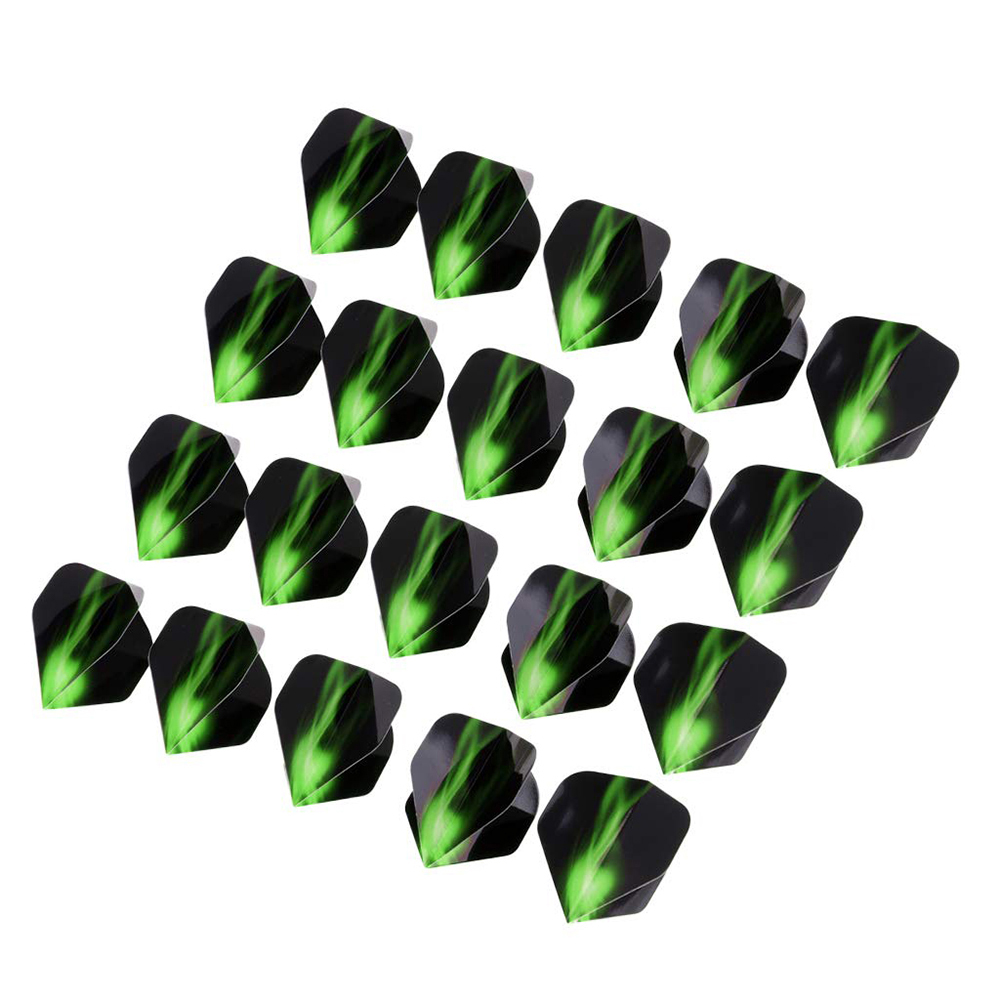 20Pcs Standard Shape Dart Flights Tail Replacement Accessories -Extra Strong