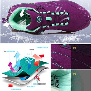 Image 2 - VEAMORS Men Outdoor Hiking Shoes Women Casual Jogging Sneakers Non slip Durable Tourism Camping Climbing Shoes Unisex