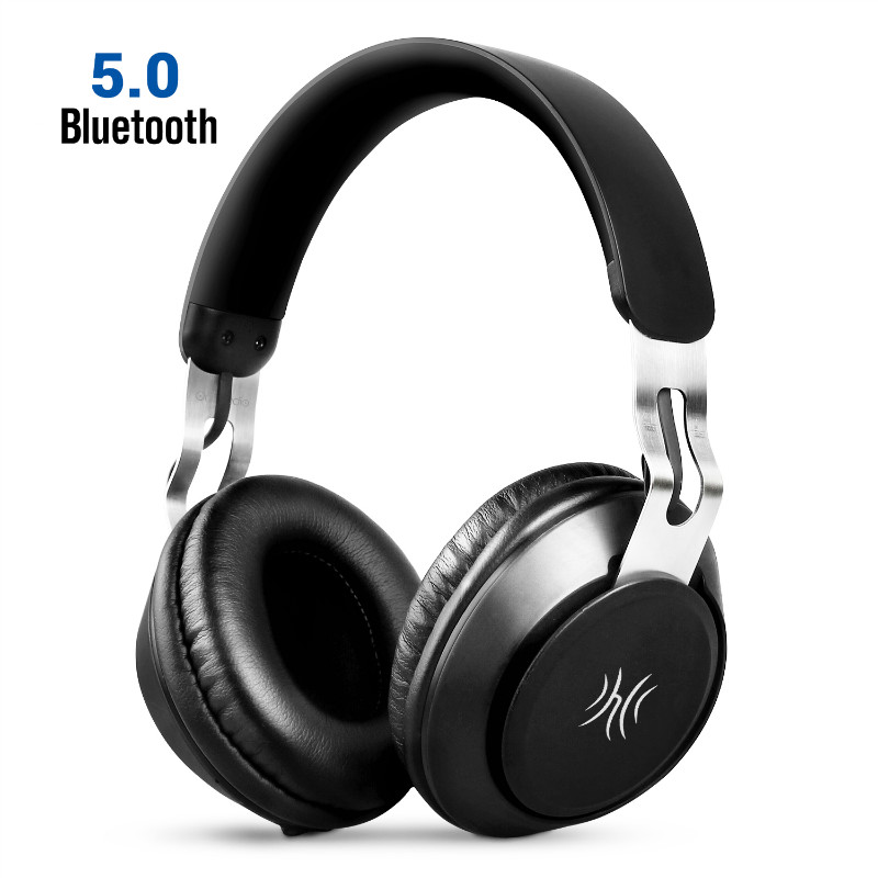 Oneodio Stereo <font><b>Bluetooth</b></font> <font><b>5.0</b></font> <font><b>Headphone</b></font> Portable Wireless Handsfree Music Headset With Mic Over Ear Earphone For iPhone Xiaomi image