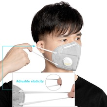 1PCs KN95 Mouth Mask With Breathing Valve Dust Mask PM2.5 Bad Smell Bacteria Proof 95% Filtration Face Mouth Mask