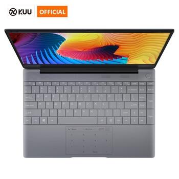KUU K2 All Metal 14.1 Inch IPS Screen 8G RAM 512G 256GB SSD Fingerprint Notebbok Full Size Backlit Laptop Windows 10 Office Game