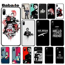 Babaite Say Hello To My Little Friends Phone Cover For Iphone 5s Se 6 6s 7 8 Plus X Xs Max Xr 11 Pro Max say hello