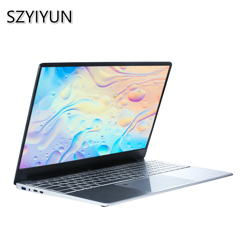 2020 New 3867U 8th Generation CPU Intel Laptop 15.6'' 1920*1080P HD Full Screen 8G RAM Office Notebook Portable Student Netbook