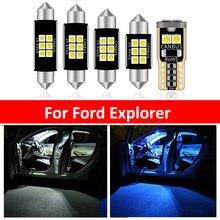 10 шт автомобилей Белый внутренний светодиодный светильник лампы