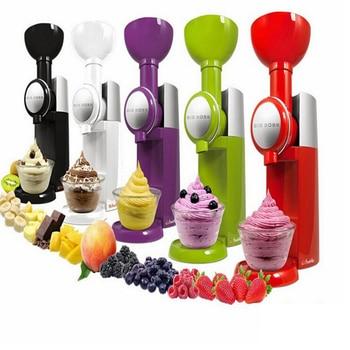 DIY Ice Cream Maker Machine Practical Design Portable Size Household Use Automatic Frozen Fruit Dessert Machine