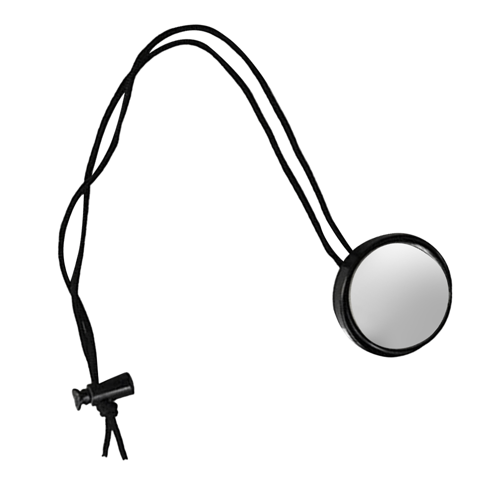 Mini Portable Rearview Mirror For Scuba Diving Diver Safety Gear Equipment