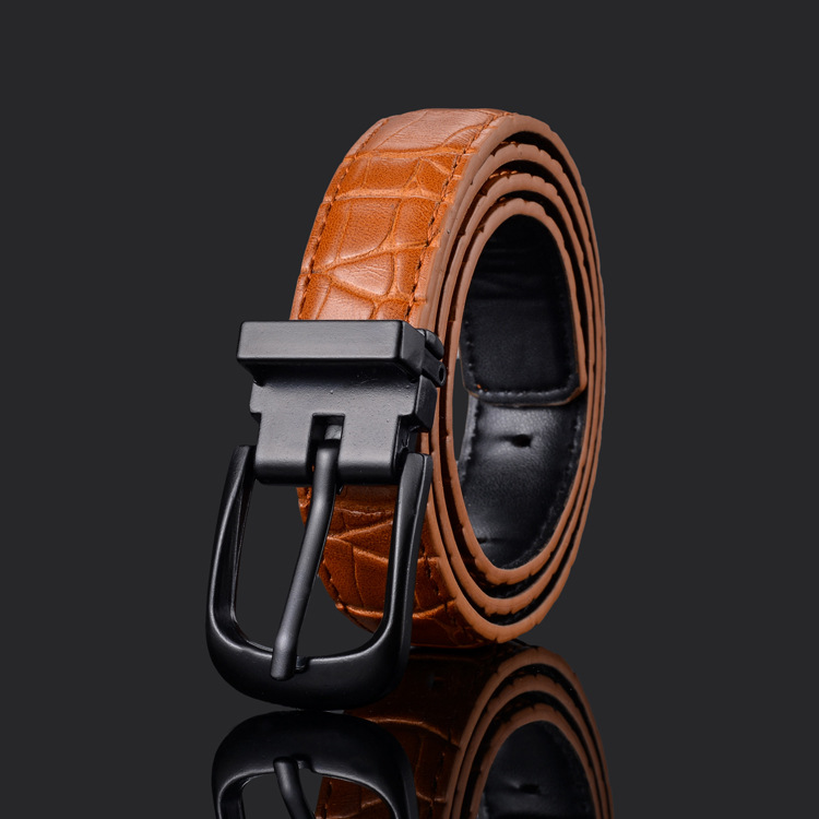 Waist Art Designer Kids Hight Quality Fashion Pu Leather Strap Boys/girls Pin Buckle Pants Belt Formal Wedding Suit Jeans Belts