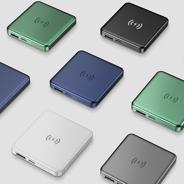 15W Magnetic Built-10000mah Battery Wireless Power Bank For Magsafe iphone 12 Pro Max 12 Mini Portable Charger Mobile Power bank 4
