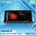Touch screen 4+64G Android 10.0 Car multimedia Player for BMW X5 F15 2014 2015 2016 car GPS Navi Radio Stereo map Wifi head unit