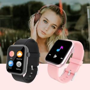Image 2 - SENBONO 2020 R3L Intelligente Della Vigilanza Degli Uomini Completa di Tocco Inseguitore di Fitness Misuratore di Pressione Sanguigna Intelligente Orologio Da Donna GTS Smartwatch per IOS Android IWO