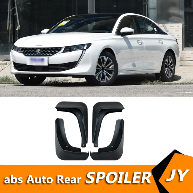 For <font><b>Peugeot</b></font> <font><b>508</b></font> 2019-2020 Mudflaps Splash Guards Front With the color and rear <font><b>Mud</b></font> <font><b>Flap</b></font> Mudguards Fender Modified special image
