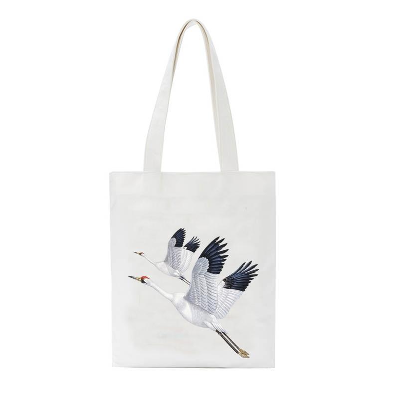 Student Canvas Casual Bags Femal Travel Shoulder Bag Eco Tote Bag Bolso Mujer Tote Mummy ShoppingBag Shoulder Environmental Bags