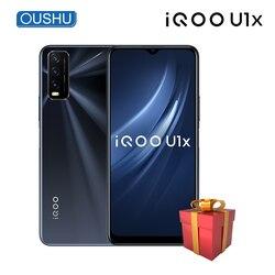 Оригинальный сотовый телефон IQOO U1x, 6,51 дюйма, Snapdragon 662, 6 ГБ, 128 ГБ, аккумулятор 5000 мАч, 18 Вт, флэш-зарядка, 13 МП, смартфон с тройной камерой