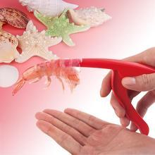 SOLEDI Инструмент Практичный пилинг креветки гаджет кухонная утварь кухонные принадлежности красный креативный прочный