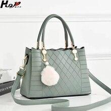 Новая роскошная Портативная сумка из искусственной кожи, женская дизайнерская сумка, модная кожаная плюшевая сумка на плечо с подвеской, повседневная женская сумка-мессенджер