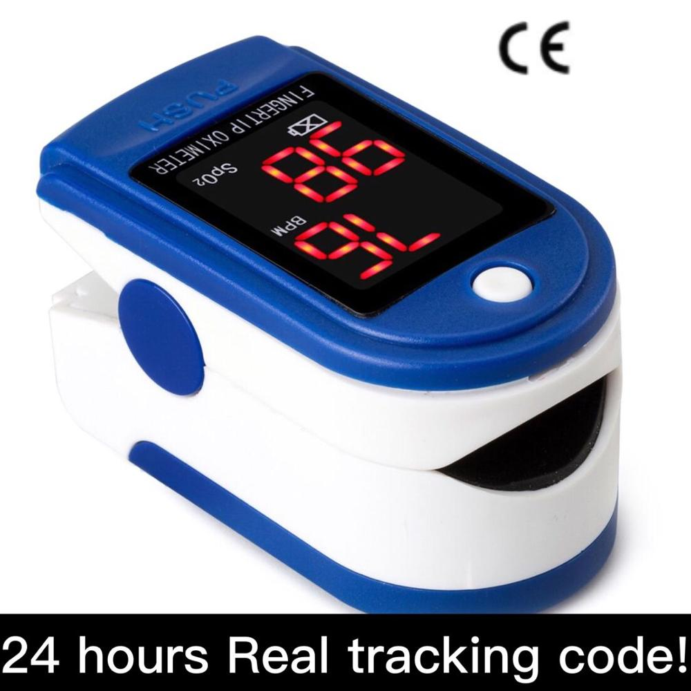 Finger Clip Pulse Oximeter Abs+Oled Color Led Display Heart Rate Monitor Electronic Digital Pulse Oximeter