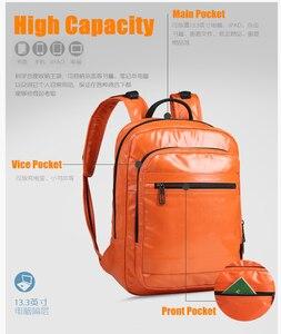 Image 5 - CAI 2019 PU Leather Female Backpack Bag for Women designer Zipper School Shoulder Bags Travel Sport back pack Girl Fashion