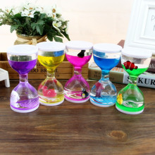 Youda Creative marine animal big cup oil dripping oil drip hourglass timer ornament marine museum gift youda new creative design diamond shape oil hourglass stress reliever oil sand timer best birthday gift oil hourglass