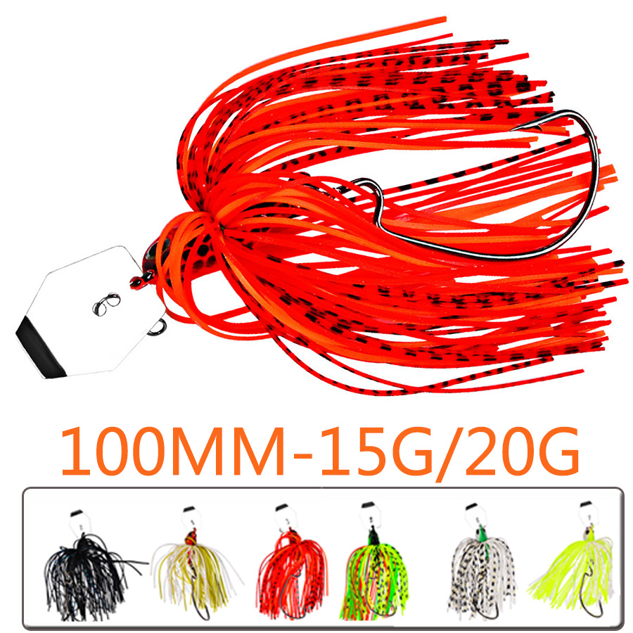 1pcs Chatterbait Wobbler For Trolling Tackle Fishing Lure Walleye Fish Bass Pike Spinnerbait Buzz Artificial Bait Hard Swimbait-0