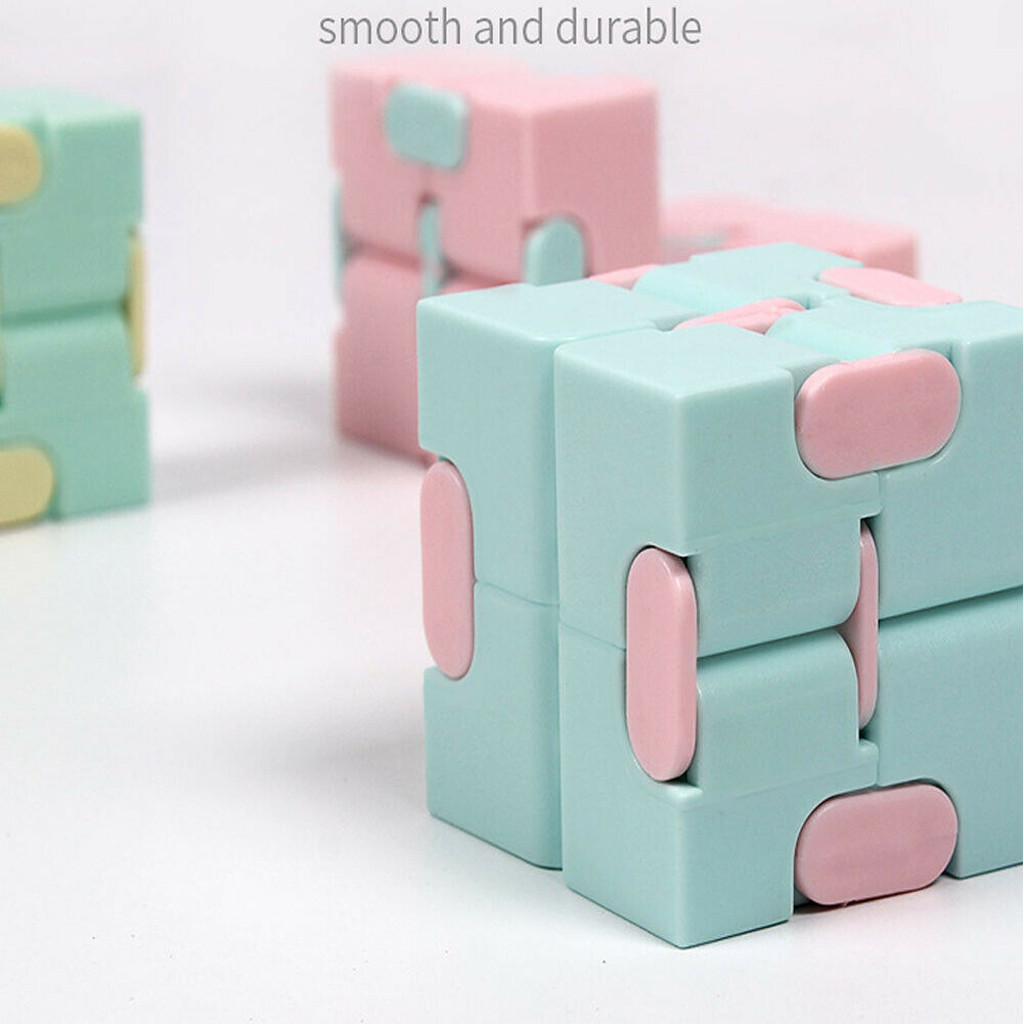 Toys Fidget Puzzle-Stress Decompress Fingertips Cubo Magic Square Reliever Gifts Lightweight img2