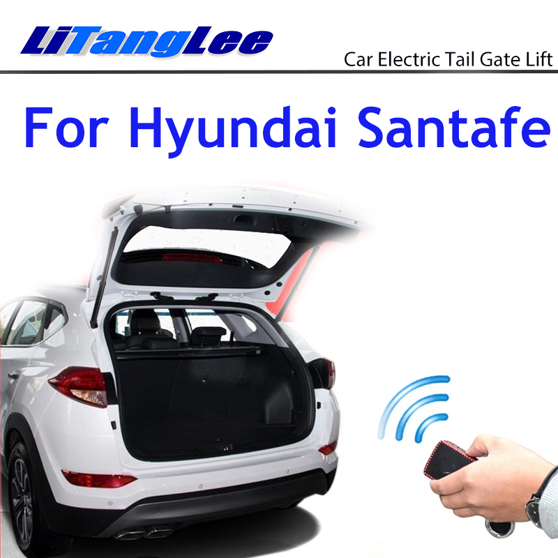 Litanglee Car Electric Tail Gate Lift Trunk Rear Door Assist System For Hyundai Santafe Tm 2019 2020 Original Key Remote Control Trunk Lids Parts Aliexpress