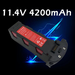 1Pcs Upgrade 11.4v 4200mAh Rechargeable Battery for Hubsan H117S Zino RC Drones Intelligent Flight Spare Part 11.4V Battery