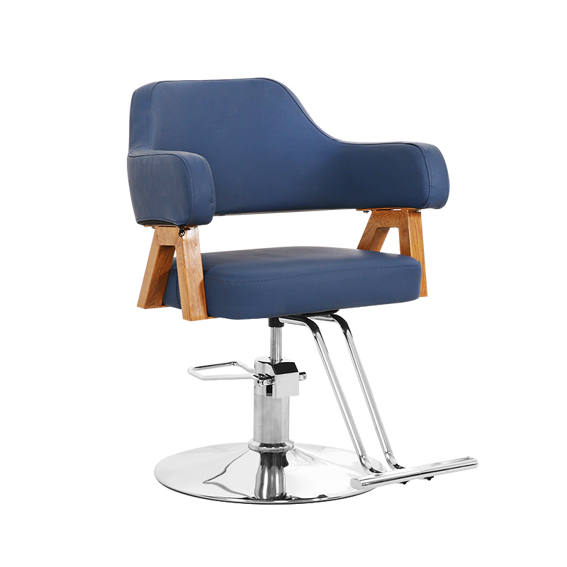Hairdressing Chair Hair Salon Dedicated European Hairdressing Hot Dyeing Chair Haircut Shop Net Red Lifting Rotary Seat