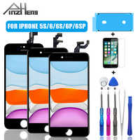 PINZHENG AAAA Display LCD For iPhone 5S 6 6S Plus Screen LCD Display Assembly Digitizer Pantalla With 3D Touch Replacement LCDs