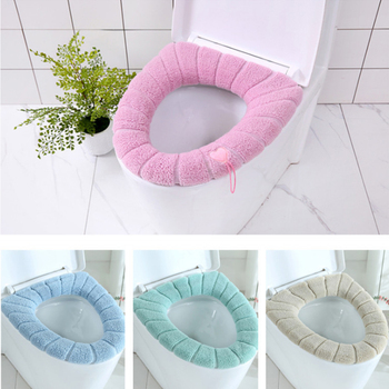 30cm Thickened Toilet Seat Cover Closestool Mat Toilet Seat Case Washable Comfortable Pads Washroom Restroom Bathroom Accessorie