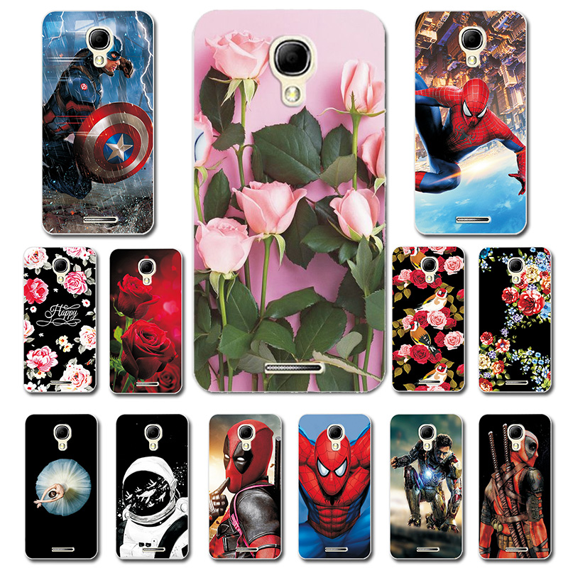 Phone Bags For Alcatel OneTouch Pixi 4 5010D Comic Style Silicone Case Cover For Alcatel One Touch Pixi4 5010D Brilliant Cover