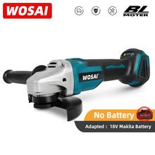 WOSAI MT-Series 20V 125mm Brushless Cordless Angle Grinder Variable Speed Cutting Machine Polisher For 18V Makita Battery